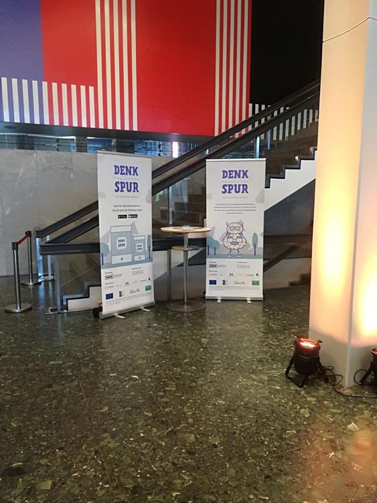 Denkspur beim Gesundheitskongress Salut 2018 in Saarbrücken