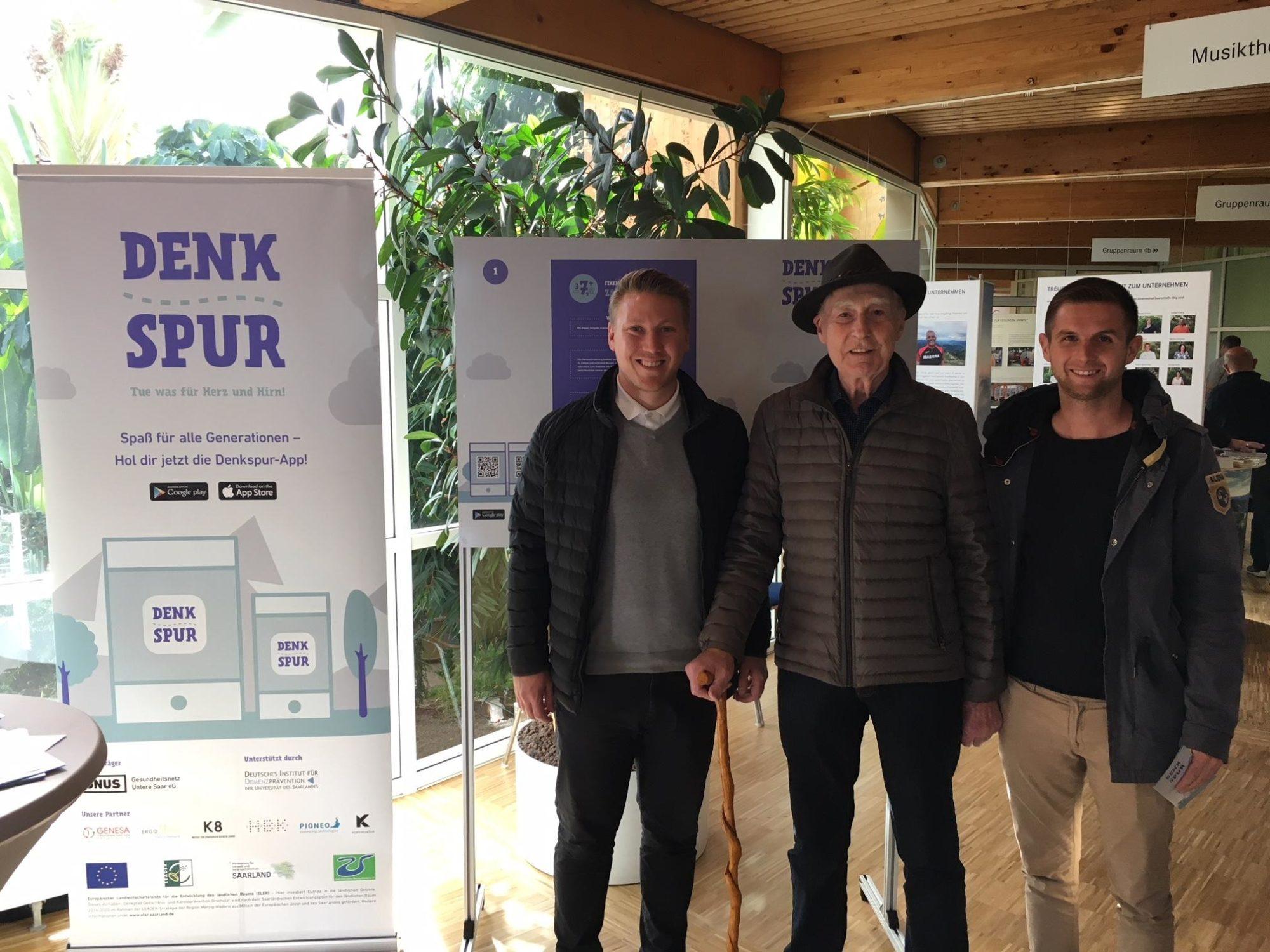 Rehaklinik Saarschleife Orscholz – Denkspur mobil beim Tag der offenen Tür